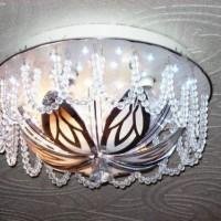 светодиодные люстры с пультом фото 16
