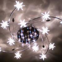 светодиодные люстры с пультом фото 17