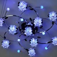 светодиодные люстры с пультом фото 22