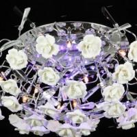 светодиодные люстры с пультом фото 29