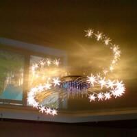 светодиодные люстры с пультом фото 4