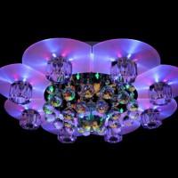 светодиодные люстры с пультом фото 5