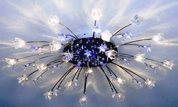светодиодные люстры с пультом фото