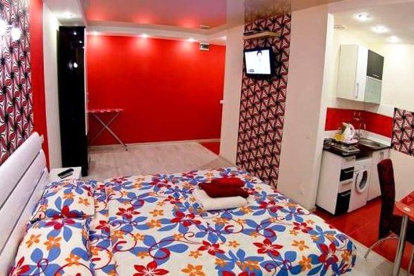 дизайн интерьера однокомнатной квартиры-студии фото 11