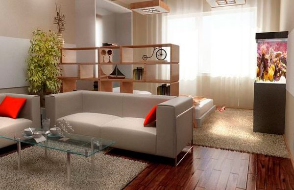 дизайн однокомнатной квартиры в хрущевке фото