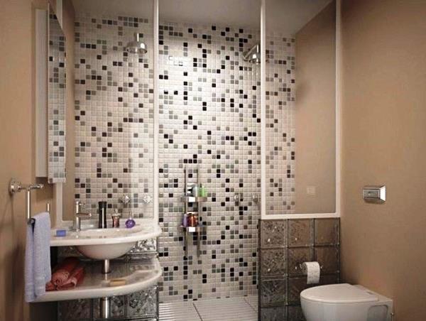 маленькие ванные комнаты с душевой кабиной фото 4