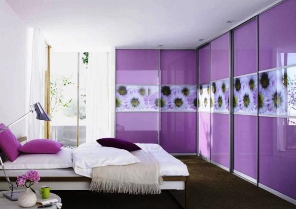 угловые шкафы купе в спальню дизайн фото 2