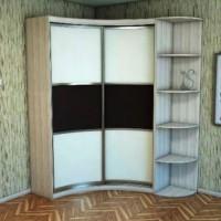угловые шкафы купе в спальню дизайн фото 23
