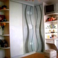 угловые шкафы купе в спальню дизайн фото 29