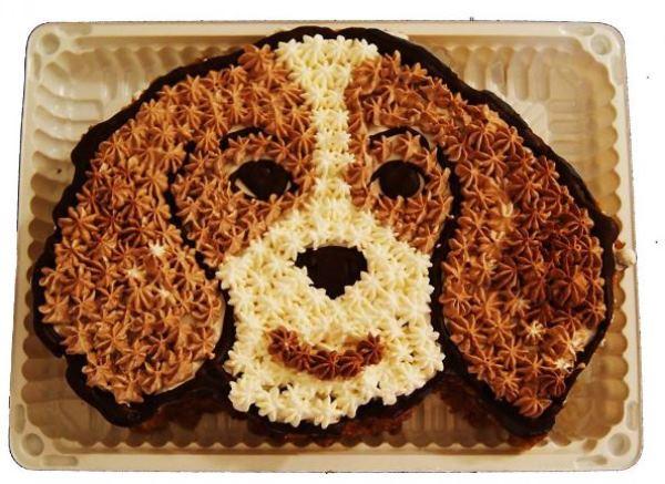 торт собака 2