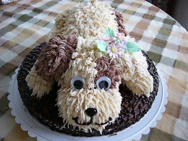 торт собака