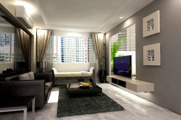 дизайн интерьера маленькой гостиной фото 4