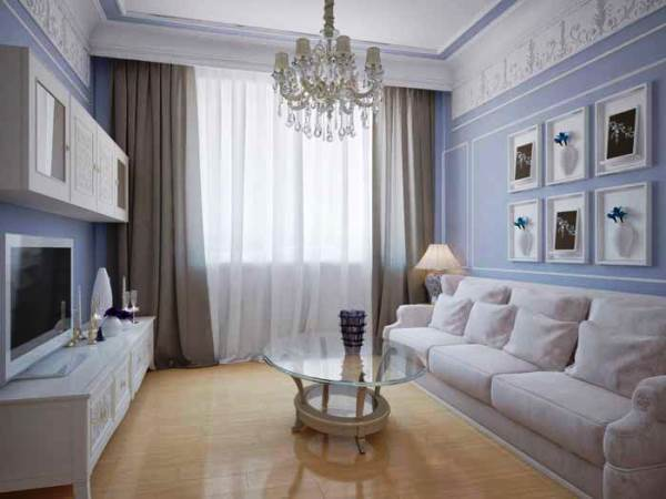 дизайн интерьера маленькой гостиной фото 7