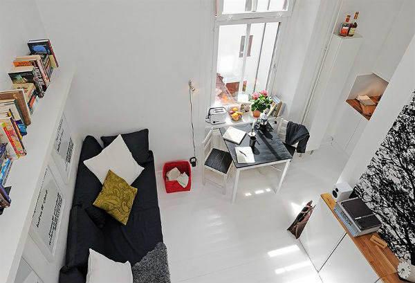 дизайн квартиры студии фото 6