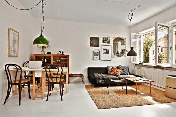 дизайн маленькой квартиры студии 26 м фото