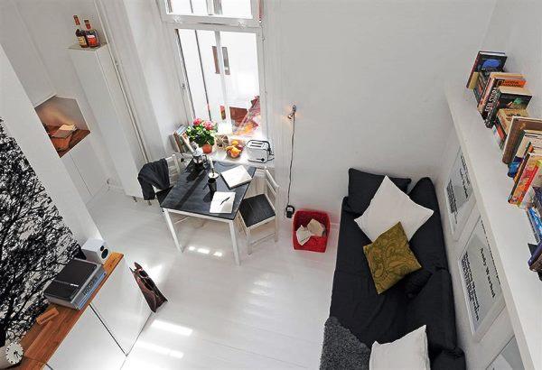 дизайн студий маленьких квартир 20 кв м