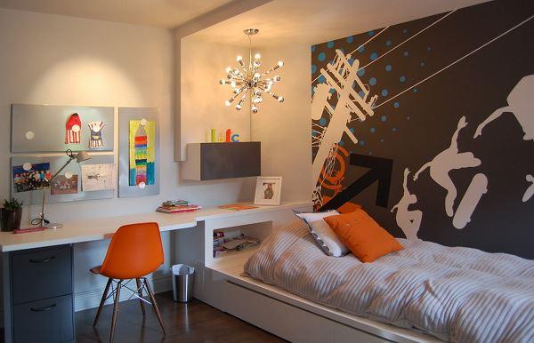 комната для мальчика подростка дизайн мебели и ремонт фото 3