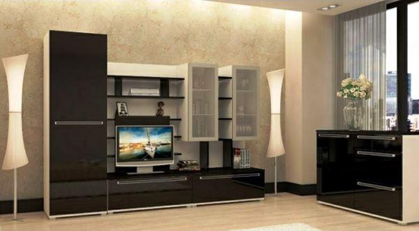 модульные гостиные в современном стиле фото