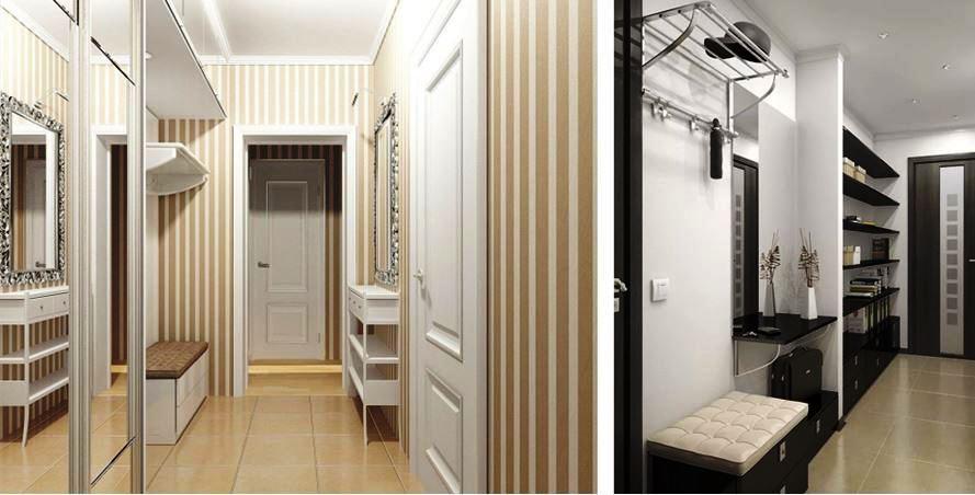 обои для прихожей и коридора фото
