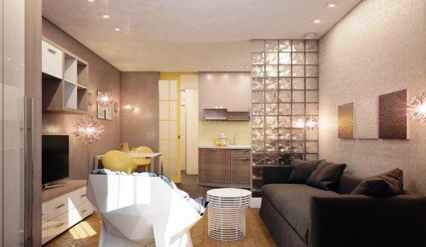 очень маленькие квартиры студии дизайн фото