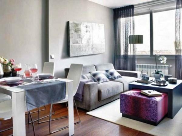 планировка маленькой квартиры студии фото