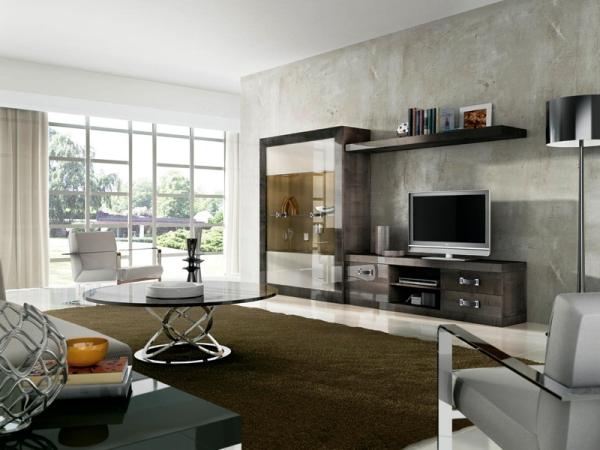 современная мебель в гостиную комнату фото 10