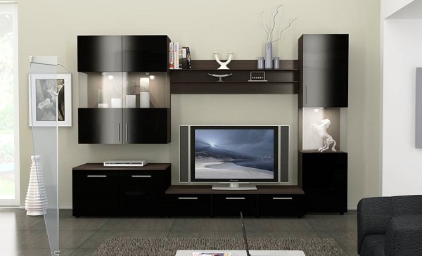 современная мебель в гостиную комнату фото 9