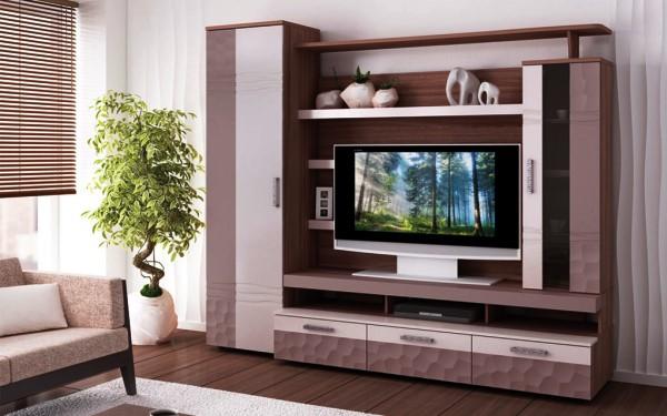 современная модульная мебель для гостиной фото
