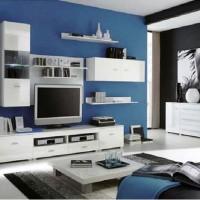 стенка в гостиной модульная в современном стиле фото 13