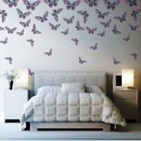 бумажные бабочки на стене своими руками фото 17