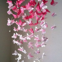 бумажные бабочки на стене своими руками фото 2
