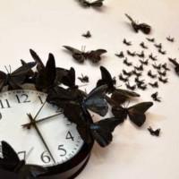бумажные бабочки на стене своими руками фото 23