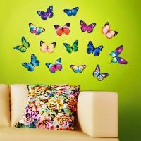 бумажные бабочки на стене своими руками фото 24