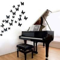 бумажные бабочки на стене своими руками фото 32