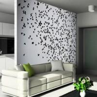 бумажные бабочки на стене своими руками фото 33