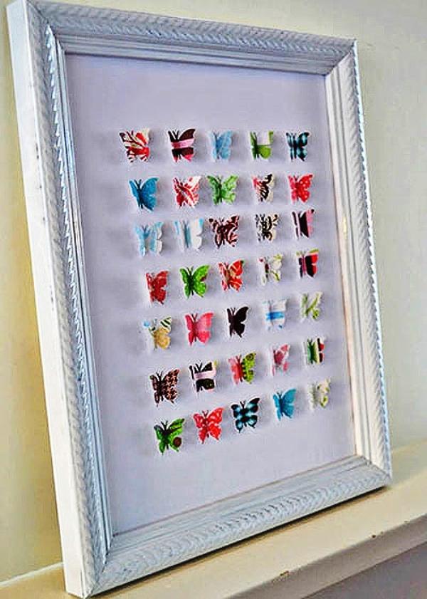декор бабочки на стене фото 5