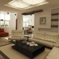 дизайн гостиной в современном стиле фото 12