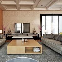 дизайн гостиной в современном стиле фото 16