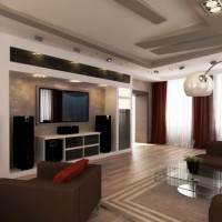 дизайн гостиной в современном стиле фото 17