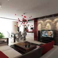 дизайн гостиной в современном стиле фото 21