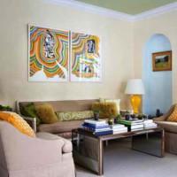 дизайн гостиной в современном стиле фото 24