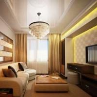 дизайн гостиной в современном стиле фото 26