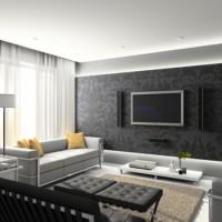 дизайн гостиной в современном стиле фото 28