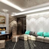 дизайн гостиной в современном стиле фото 31