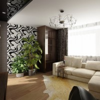 дизайн гостиной в современном стиле фото 40