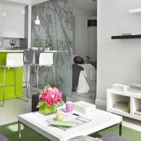 дизайн интерьера квартиры студии 30 кв.м фото