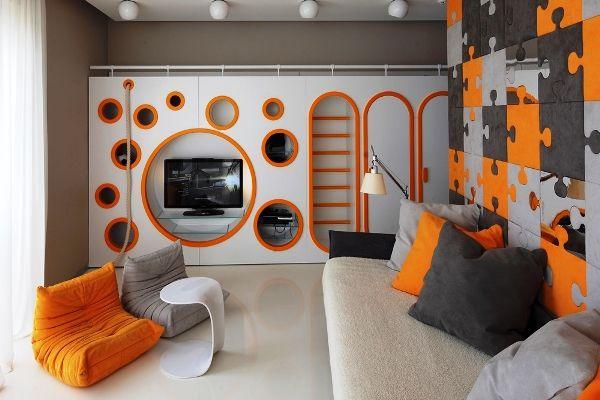 дизайн комнаты для двух мальчиков подростков фото