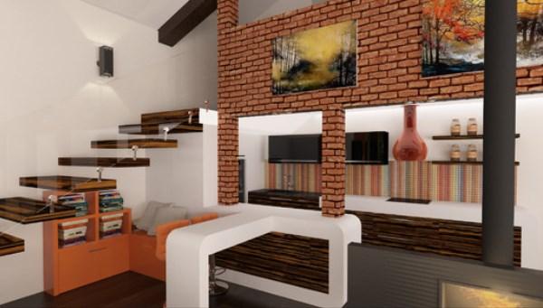 интерьер гостиной фото в современном стиле в частном доме