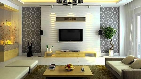 интерьер гостиной комнаты в современном стиле фото