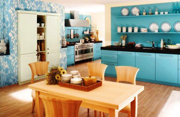 какой цвет обоев выбрать для кухни фото 9